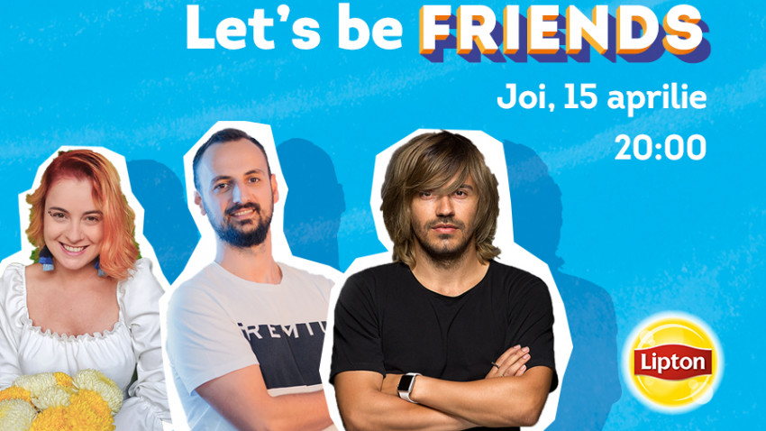 Let's be FRIENDS on Clubhouse. Lipton Ice Tea anunță primul room din Clubul Talks under the Sun