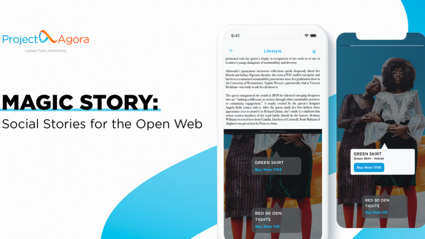 Social Media Stories pot fi acum integrate în pagini web folosind soluții de publicitate versatile oferite de Project Agora