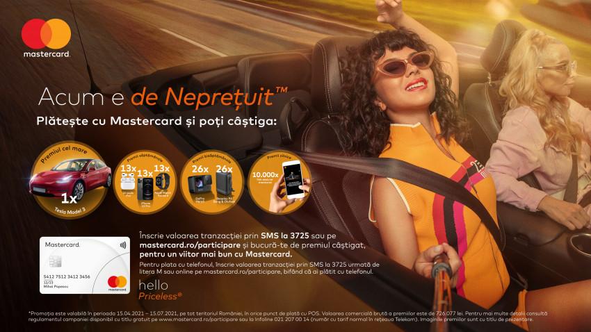"""Mastercard lansează campania """"Acum e de Neprețuit"""" și, alături de INNA, invită consumatorii să își creeze și să dea curs oportunităților din prezent"""