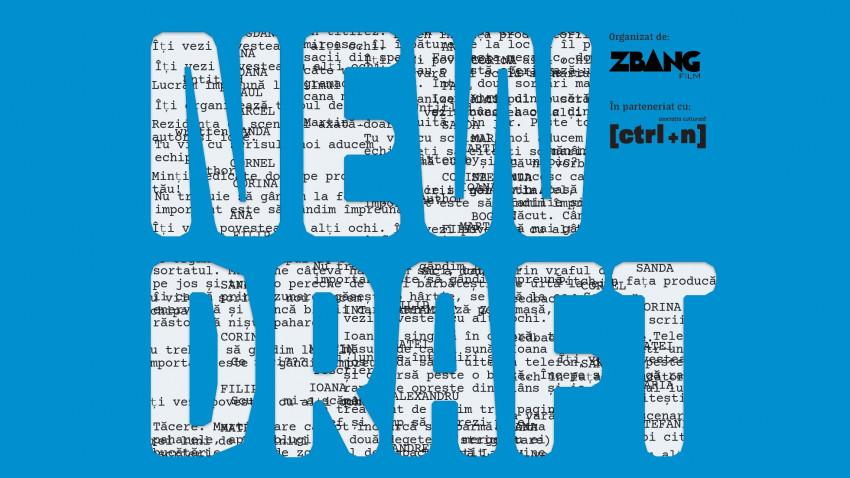 Aplicații deschise pentru New Draft, rezidență de dezvoltare de scenarii