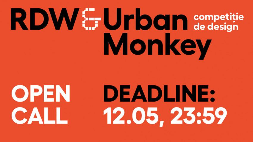 Se lansează competiția de design RDW X Urban Monkey