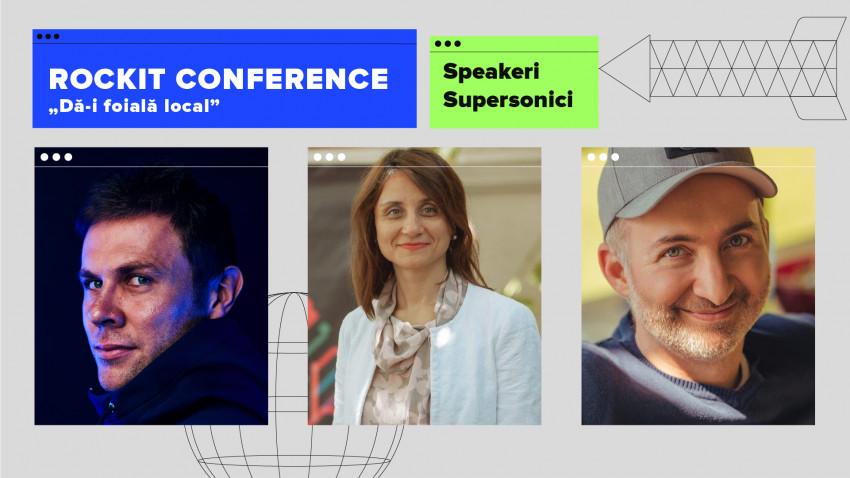 Rockit Conference anunță încă 3 speakeri intergalactici în line-up-ul său