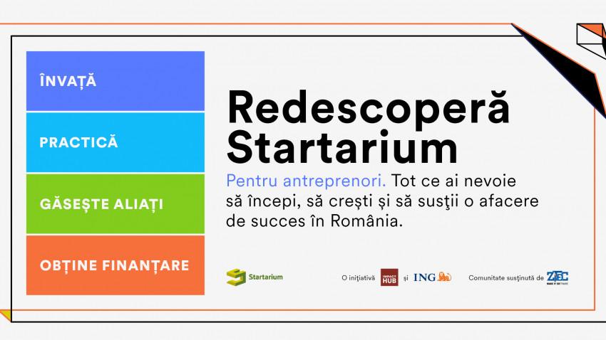 Startarium își relansează platforma educațională și anunță noi planuri, parteneri și produse cu care va susține 100.000 de antreprenori români