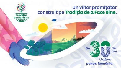 De 30 de ani Unilever sărbătorește Tradiția de a face bine în România