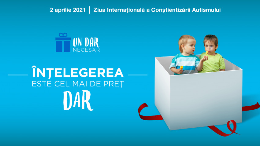 2 aprilie - Ziua Internațională a Conștientizării Autismului