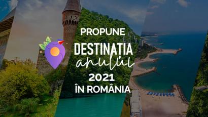 Prima TV și platforma DestinatiaAnului.ro te invită să participi la cel mai ambițios proiect de promovare turistică a României: alege destinația anului 2021 din România