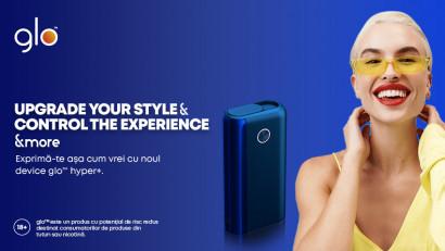 glo™ lansează hyper+, noul device cu aspect premium