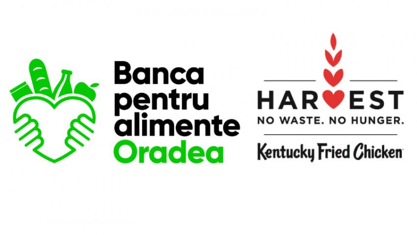 KFC România și Banca Regională pentru Alimente Oradea devin parteneri în susținerea programului Harvest