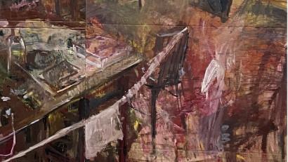 Timp și spațiu captate prin culoare la galeria neconvențională Celula de artă