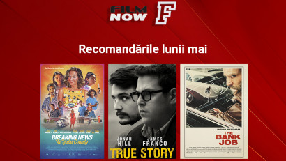 Film Now continuă recomandările săptămânale tematice: în luna mai, săptămâna a doua este axată pe superproducții pline de suspans, genul crimă