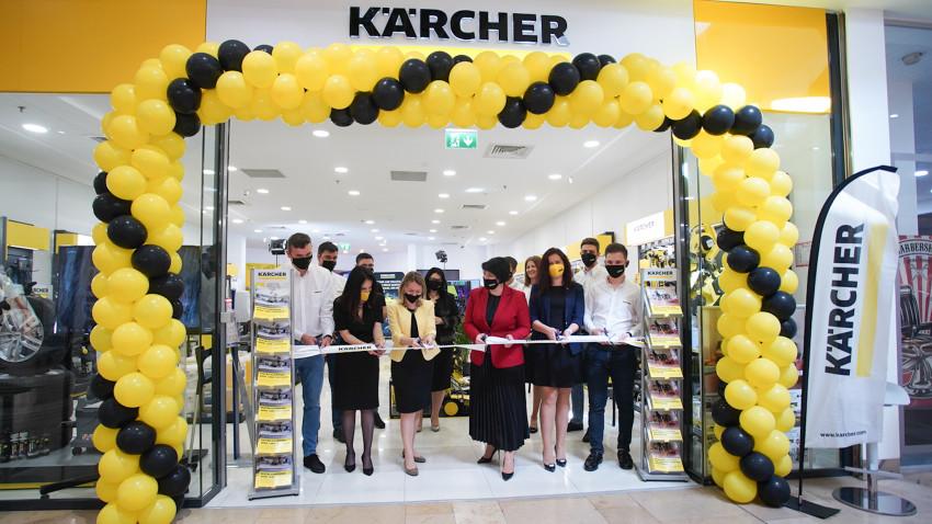 O nouă reprezentanță Kärcher Center se deschide înBucurești Militari Shopping