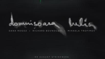 Domnișoara Iulia, noul spectacol semnat de regizorii Andrei și Andreea Grosu - premieră online, în cadrul Festivalului Caleido