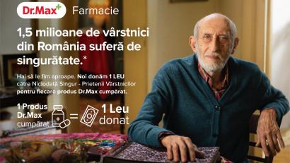 Cea mai recentă campanie Ogilvy România pentru Dr.Max îți amintește că vârstnicii români au nevoie de o nouă realitate
