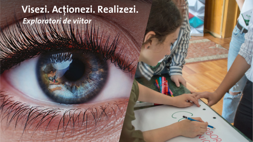 """Holcim România și Fundația Leaders lansează """"Exploratori de viitor"""" - program în care tinerii sunt îndrumați în alegerea cariereiși dezvoltă proiecte pentru comunitate"""