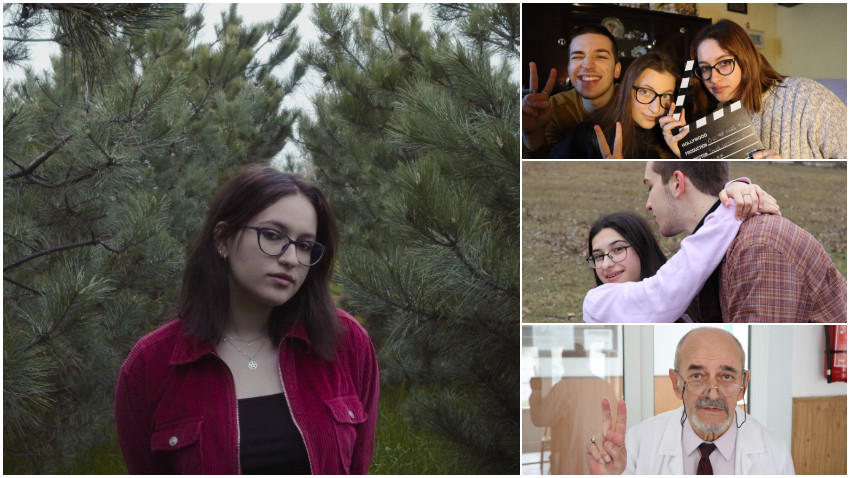 Ania Ionescu: Regie și montaj am învățat pe cont propriu, uneori din greșeli, sau din tot felul de filmulețe de pe YouTube