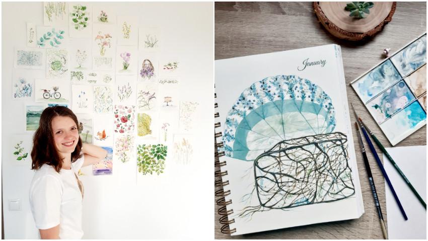 [Art&Magic] Eliza Pușcașu: Stilul artistic te găsește și te conduce tot mai adânc spre tine, fiind într-o continuă transformare