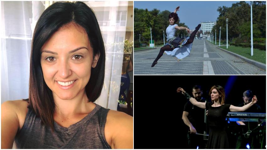 """[Dans & Energie] Rasmina Călbăjos: Durerea izolării, spaima și """"frica"""" de oameni pe care lumea ne-a inoculat-o sper să mă ajute să creez mai departe"""