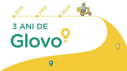 Glovo împlinește trei ani în România. Cum s-a dezvoltat compania în această perioadă