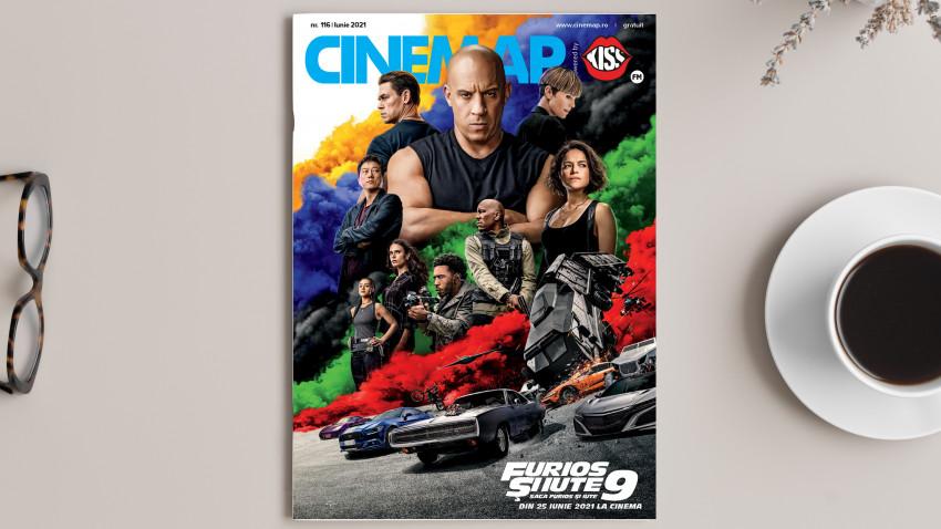 A apărut Cinemap, ediția de iunie. Citește online noul număr Cinemap