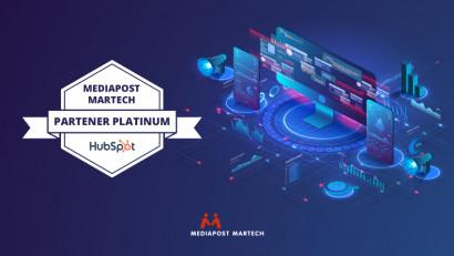 Mediapost Martech intră în rândul partenerilor HubSpot Platinum Partners. Pe plan mondial, mai puțin de 8% dintre partenerii HubSpot reușesc să atingă acest nivel de certificare