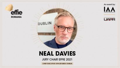 Neal Davies revine ca Jury Chair la Romanian Effie Awards 2021