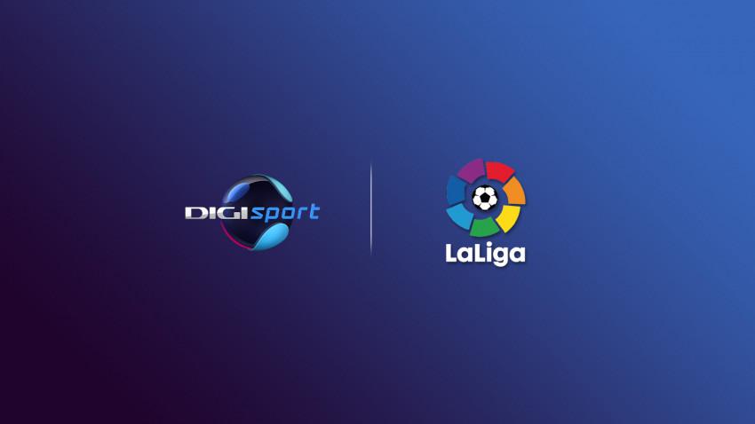 Digi Sport va difuza meciurile din LaLiga până în 2024