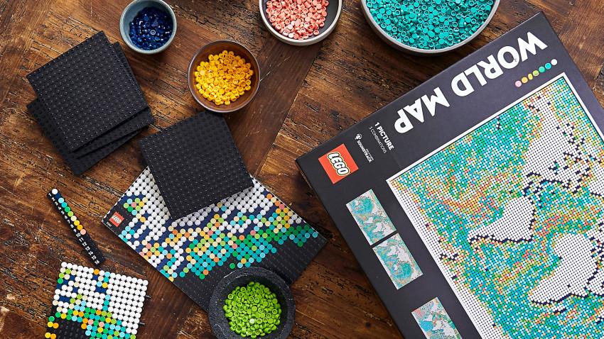 Liber la călătorii cu cel mai extins set LEGO® Art din istoria Grupului LEGO