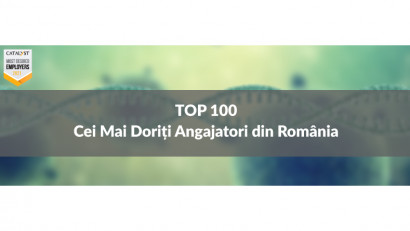 Top 100 Cei Mai Doriți Angajatori din România în 2021stabiliți de peste 14.000 de respondenți