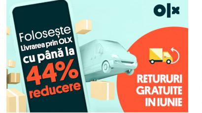 OLX România crește gradul de siguranță al tranzacțiilor și lansează un nou flux al serviciului de Livrare prin OLX