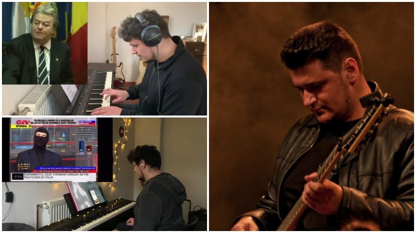 Cristian Cente transformă personajele din România în meme muzicale