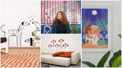 [Creative Business] Ana Bănică: Autocolantele Cai verzi sunt create de un ilustrator-arhitect. Atelierul e o poartă către o altă lume, provocatoare, imprevizibilă, cu umor
