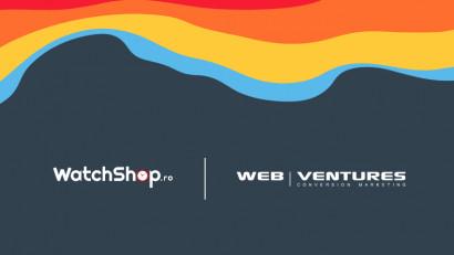 Web Ventures preia comunicarea digitală a WatchShop România