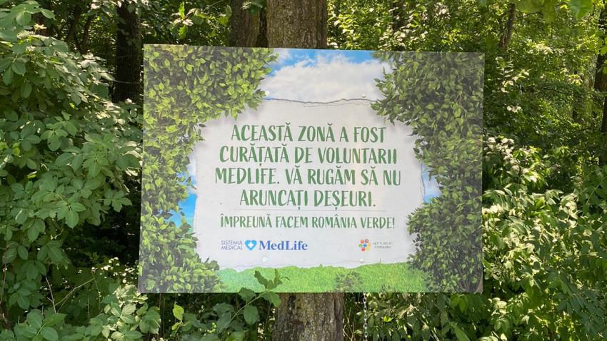 MedLife continuă angajamentul de a face România Verde