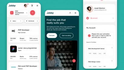 Jobby - Branding / UX UI