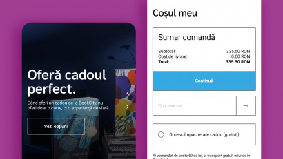 Bookcity - Website design