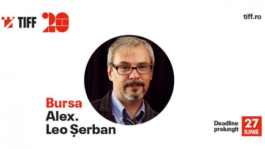 """Perioada de înscrieri pentru Bursa """"Alex. Leo Șerban"""", oferită de Conceptual Lab by Theo Nissim la TIFF, a fost prelungită"""