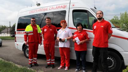 1,700 de persoane vaccinate în Călărași, prin intermediul Caravanei de Vaccinare organizată de Crucea Roșie Română și BCR Asigurări de Viață VIG