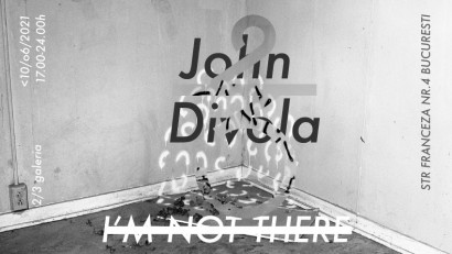 I'm not there - 2/3 galeria se deschide pe 10 iunie în București