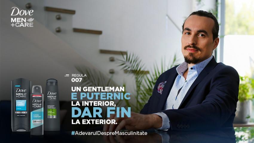 #AdevărulDespreMasculinitate – noua campanie de Masterbrand lansată de Dove Men+Care și Kubis