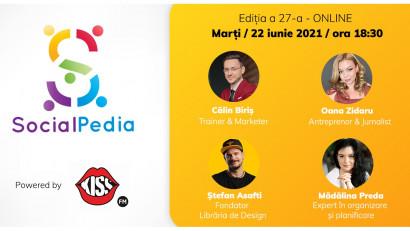 SocialPedia 27:Despre Freelancing & Antreprenoriat în 2021 cu Călin Biriș, Oana Zidaru, Ștefan Asafti și Mădălina Preda