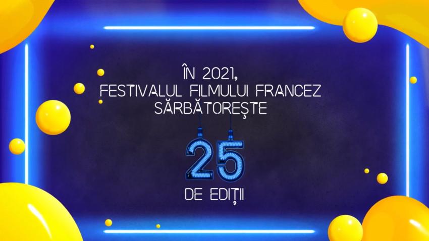 Festivalul Filmului Francez în româniacelebrează 25 de ani cu o ediţie aniversară, de vară