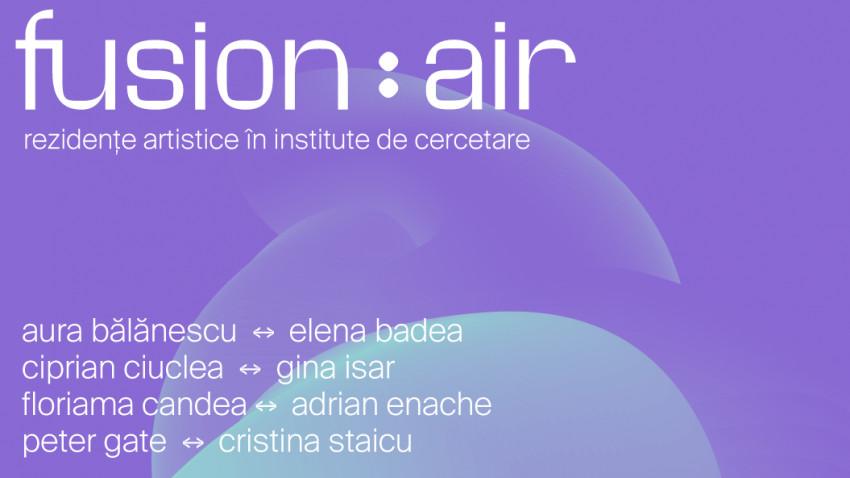 Expoziția Fusion:AIR 2021 – Structuri convertibilepatru instalații multimedia transpun concepte științifice în artă