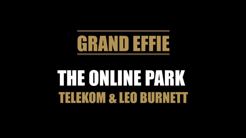 EFFIE 2021: The Online Park//Telekom, Grand Effie. Telekom Romania, Clientul Anului. Leo Burnett, Agentia Anului