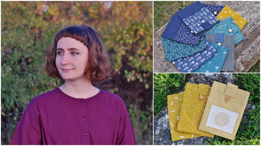 [Noii artizani] Andreea Zbagan: E minunat sa vezi ca inca se citeste in Romania, ca exista o grija fata de carte, ca oamenii stiu sa aprecieze un produs lucrat manual