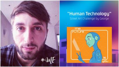 [Human, Art & Tech] Catalin-Daniel Toader: Tehnologia este prezenta in proportie de 70% in viata mea. Si nu, nu imi pare rau!