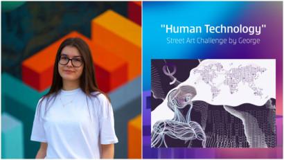 [Human, Art & Tech] Teodora Popescu: Tehnologia avanseaza din ce in ce mai repede. Este timpul sa avansam si noi cu ea