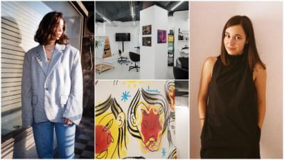 """Anastasia Lipcanu și Andra Bria: Intervenția """"Her Squat"""" și-a propus să provoace conservatorismul structural al lumii artistice"""
