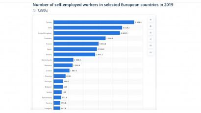 România este încă printre țările în care lipsesc politicile simplificate și legiferarea pentru persoanele care desfășoară activități independente