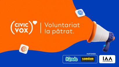 IAA Young Professionals anunță o nouă ediție Civic Vox.Nume sonore din MarCom dau voce ONG-urilorprin VOLUNTARIAT LA PĂTRAT