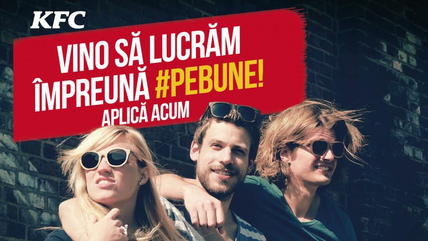 Oportunități de angajare la KFC România:400 de posturi disponibile în restaurantele din întreaga țară